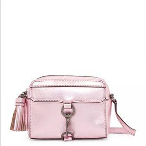 Rebecca Minkoff MAB Metallic Pink Camera Bag